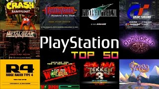 Playstation One/PS1 Top 50 Games