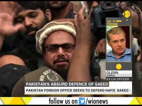 Former CIA officer speaks over Pakistan defending Hafiz Saeed's release