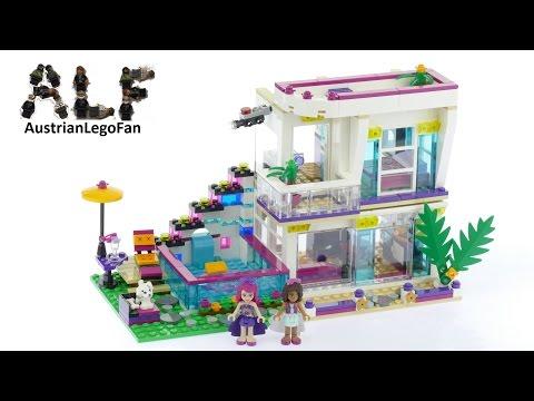 lego-friends-41135-livi's-pop-star-house---lego-speed-build-review