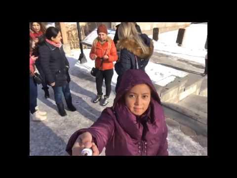 Exploring Northern Ave. In Yerevan