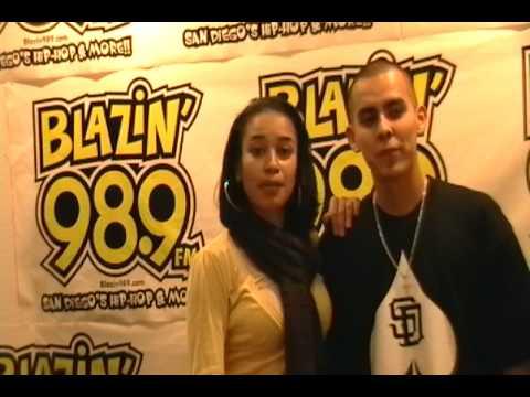 Lucia D.First Christian Artist on Blazin' 98.9 FM