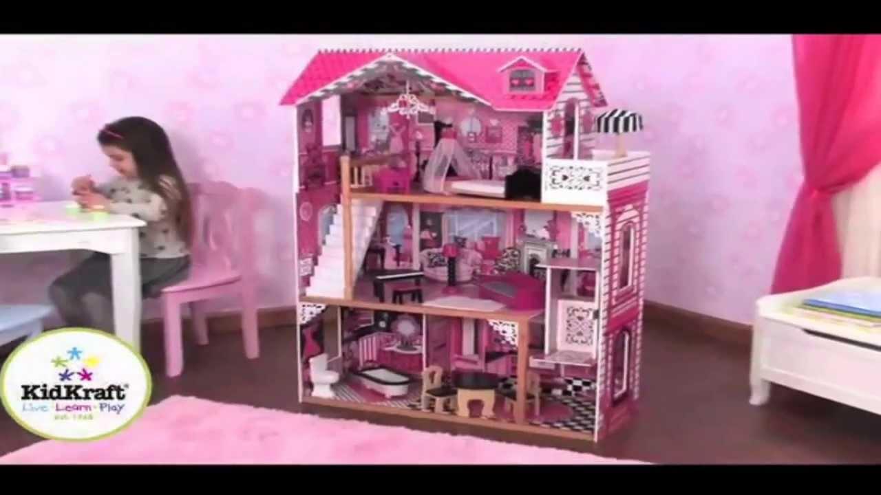 KidKraft Amelia Dollhouse W/ Furniture | 65093   YouTube