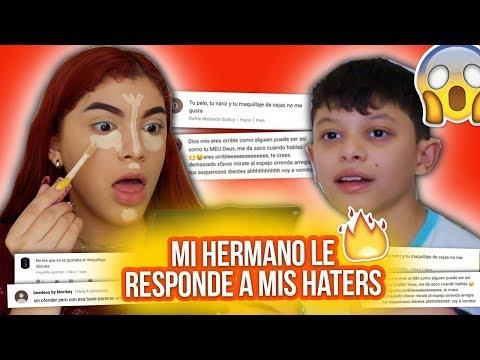 RESPONDIENDO COMENTARIOS DE HATERS MIENTRAS ME MAQUILLO