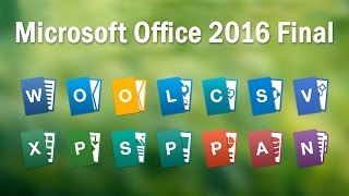 Microsoft Office 2016 Final ISO + Multilanguage Pack with Activator - Full Totorial