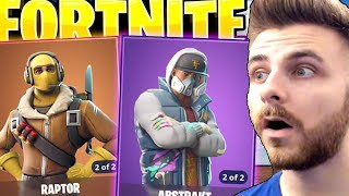 IRAPHAHELL BOUGHT ME ALL THE SKINS ON THE SHOP IN FORTNITE!