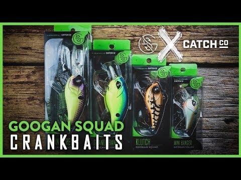 Googan Squad CRANKBAITS Are HERE! | Introducing The Googan Crank Arsenal