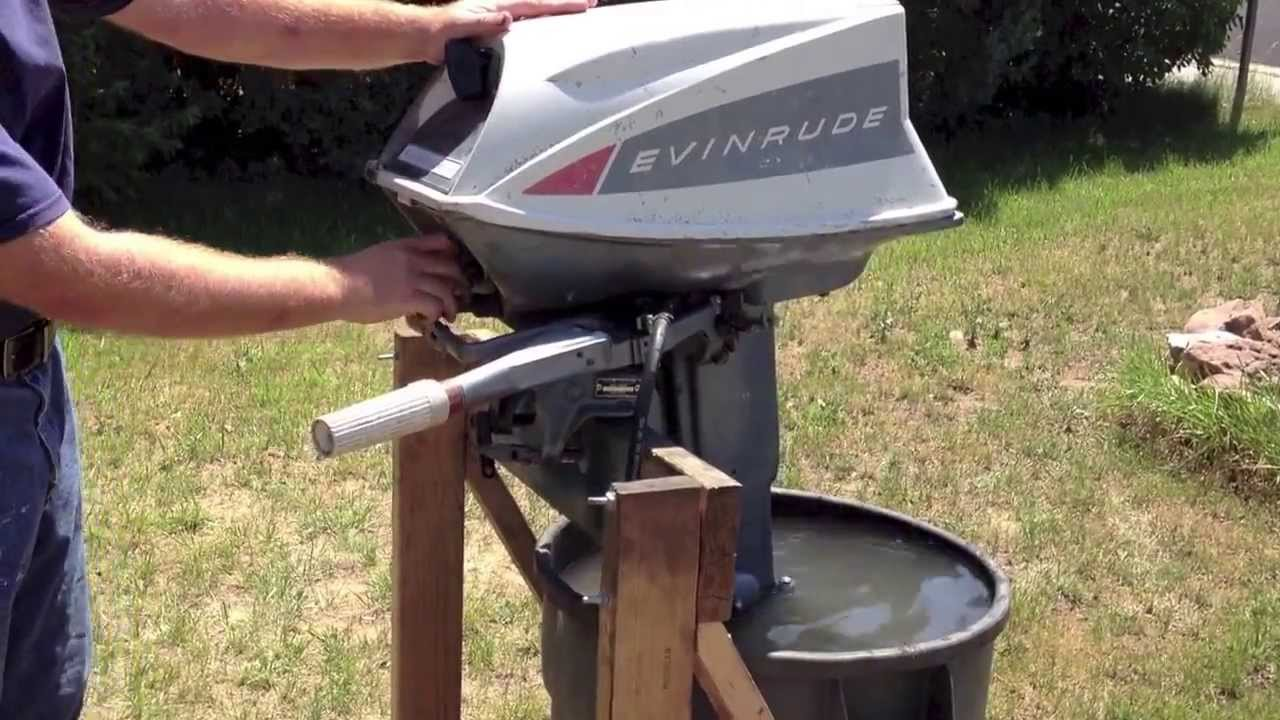 1965 evinrude fastwin 18hp youtube rh youtube com