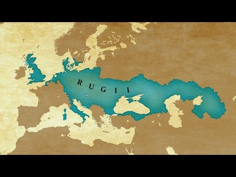 EU4 Timelapse - Tribal Empire of Rugii (Extended Timeline) [2-402]