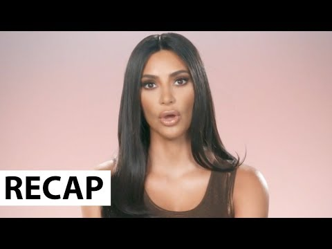 Kim Kardashian Slams Kanye Over Met Gala Dress Diss - KUWTK Recap