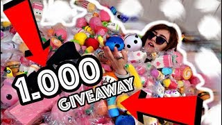 1000 DE SQUISHY-URI IN CADA + GIVEAWAY