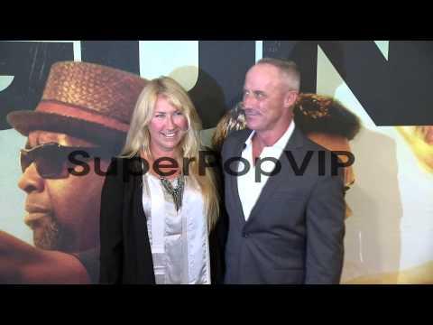 Robert John Burke  and guest at '2 Guns' New York Premier...