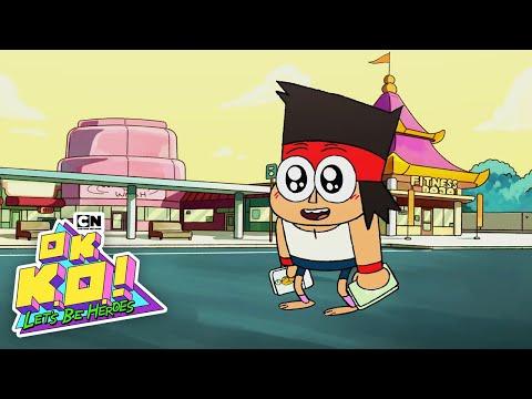 Building a BRAND NEW mobile game for OK K.O.! | Cartoon Network