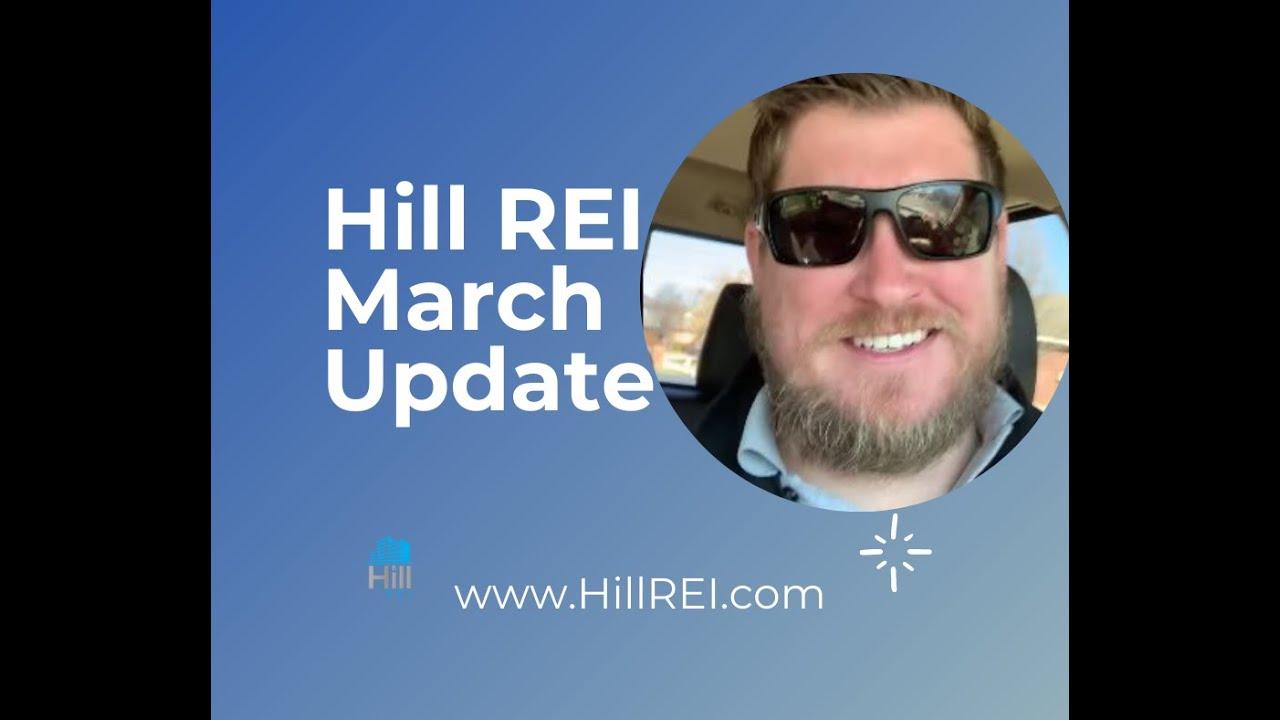 Hill REI Match Update | www.HillREI.com