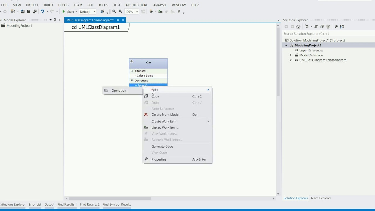 How to design uml class diagram and generate c sharp code using how to design uml class diagram and generate c sharp code using visual studio ccuart Gallery