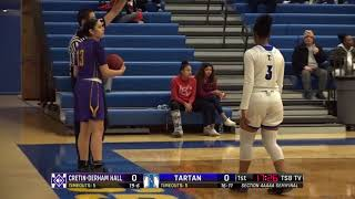 High School Girls Basketball: Cretin-Derham Hall vs. Tartan, Section 4AAAA semifinal
