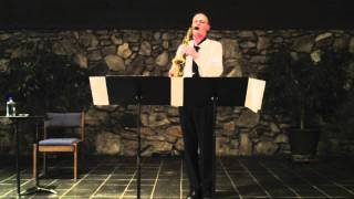 J. S. Bach, Prelude from Cello Suite No. 1, Chris Condon - Saxophone