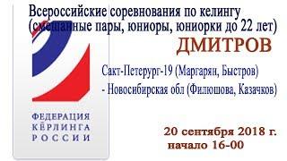 Кёрлинг. Санкт-Петербург-1 (Маргарян, Быстров) - Новосибирская обл (Филюшова, Казачков)