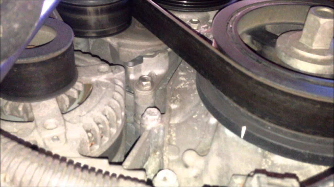2007 Toyota Tundra Serpentine Belt Replacement  YouTube