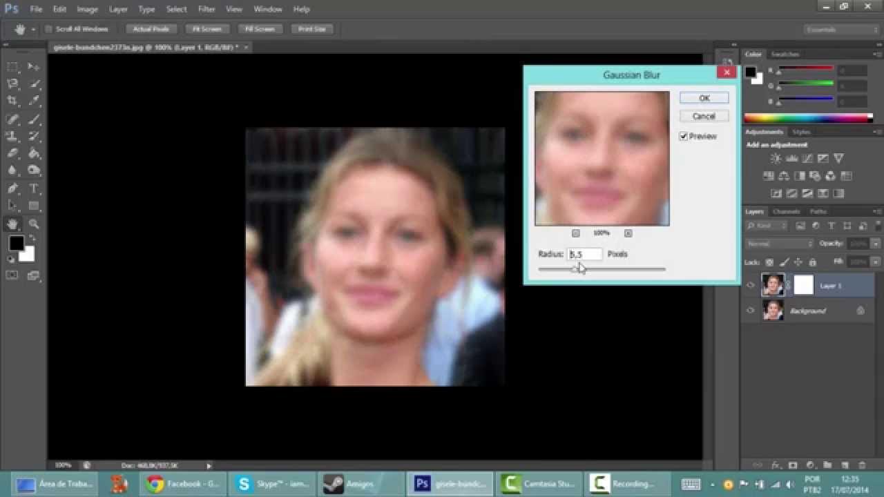 Photoshop Cs6 Deixando A Pele Perfeita Youtube