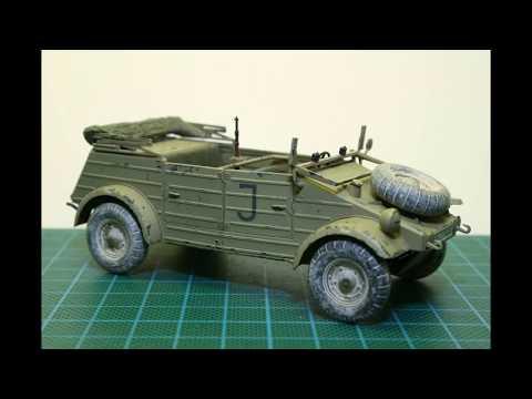 Modelismo / Scale modeling - Pkw.K1 Kubelwagen type 82 Africa-Corps 1/35 part 2