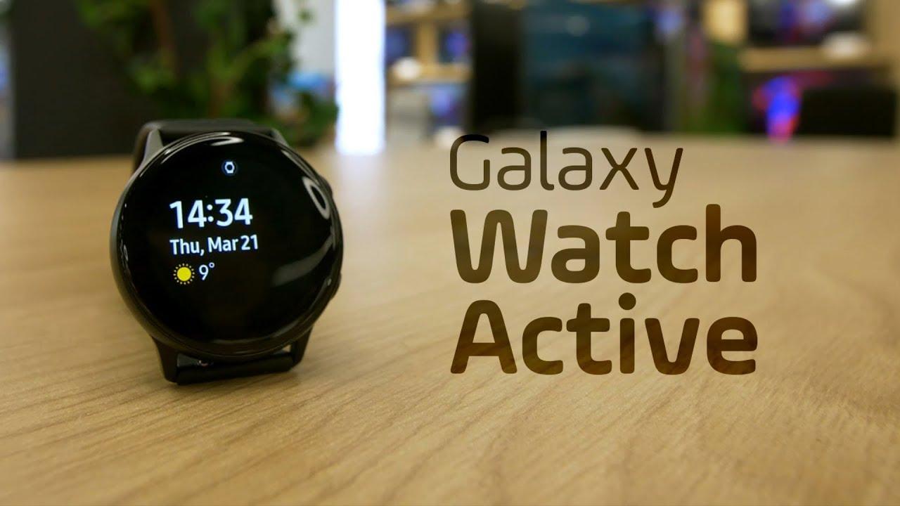 Galaxy Watch Active. Concurent pentru Apple Watch (review română)