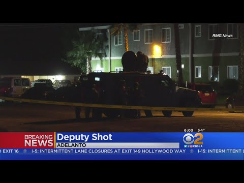 Deputy Shot After Hearing Gunfire At Adelanto Apartment Complex