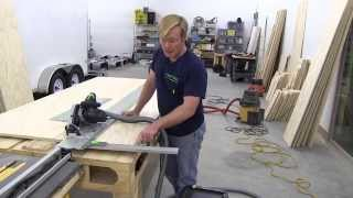 Building A Mobile Woodshop (part 16) The Festool Track Saw