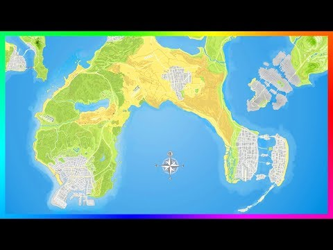 Rockstar Wants To Create This Incredible GTA World Map!
