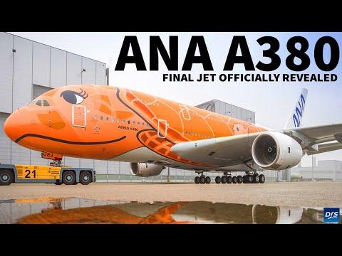 Final ANA A380 Revealed