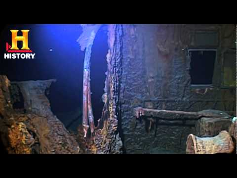 Titanic Wreck Footage - A Tale of Two Journeys - REMASTERED