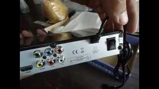 Unboxing Decodificador DVB T2 comprado en aliexpress