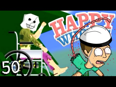 IL FANTASMA DI NONNO CHUCK?! - Happy Wheels [Ep.50]