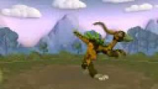 spore duck bill dinosaur