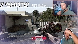 I HIT THE TOMAHAWK TRICKSHOT! | 7 'SHOTS' lol (BO2 Highlights) @xRitzz