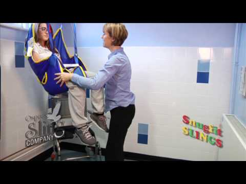 The Valet Sling   Full Supportive Toileting Sling,With No Bed Transfer..