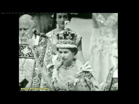 bbc tv coronation of queen elizabeth ii westminster abbey 1953 william mckie youtube bbc tv coronation of queen elizabeth ii westminster abbey 1953 william mckie