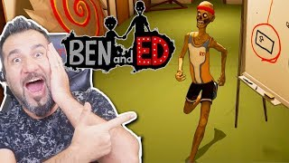 BEN VE ED! BÜYÜKLERE KOMİK AMA ÇOK ZOR ZOMBİ OYUNU! | BEN AND ED OYNUYORUZ