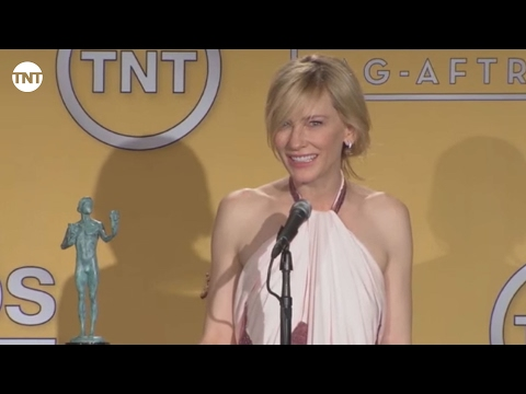 Cate Blanchett | Press Room | SAG Awards