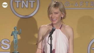 Cate Blanchett   Press Room   SAG Awards