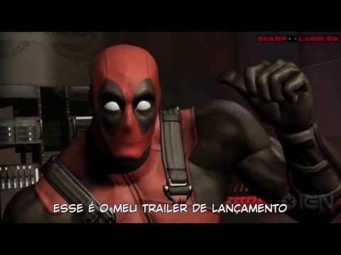 Lançamento do Game Deadpool trailer Legendado PT-BR