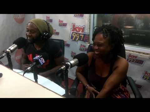 Reggie Rockstone and wife, Zilla on Personality Profile on Joy FM