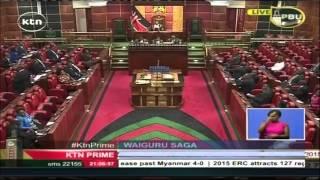 KTN Prime Full Bulletin 12th November 2015