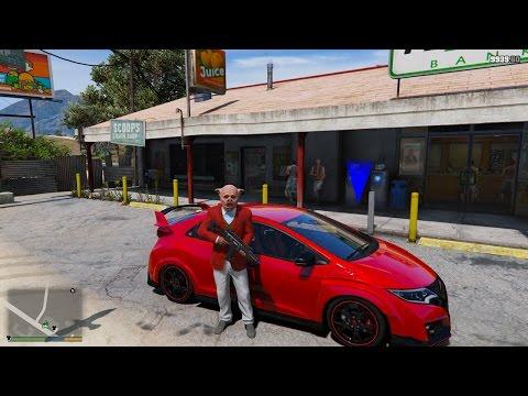 GTA 5 - Đột nhập cướp ngân hàng lớn nhất thành phố rồi trốn về quê | ND Gaming