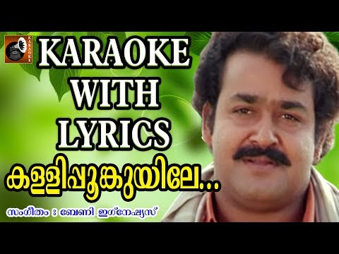 Kalli Poonkuyile Karaoke with Lyrics | Karaoke Songs with Lyrics | Malayalam Movie Songs | Karaoke