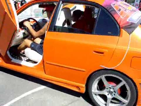 Tunning Show Chile Hyundai Accent Turbo Y Puertas Lambo