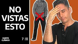 7 cosas que un hombre NUNCA debe vestir