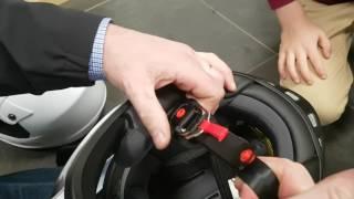 How to Adjust D Ring Helmet for Riding Quad or Motocross - Motoworld Ireland