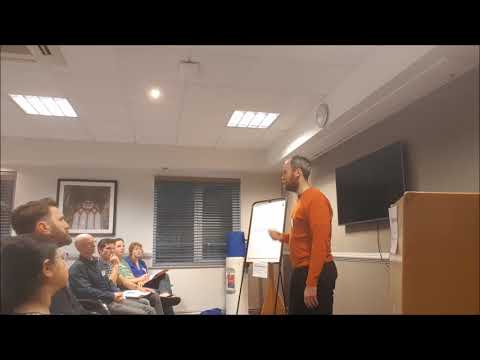 """Go To Health"" Speech At Glasgow Toastmasters (Ronnie Smith)"