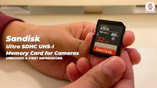 Sandisk Ultra SDHC UHS Memory Card | Review