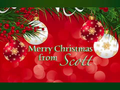 SCOTT COLOMBY  CHRISTMAS MEMORY CARD